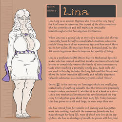 Character Bio (Lina)
