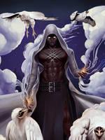 Vulture Warlock by CoddledTamago