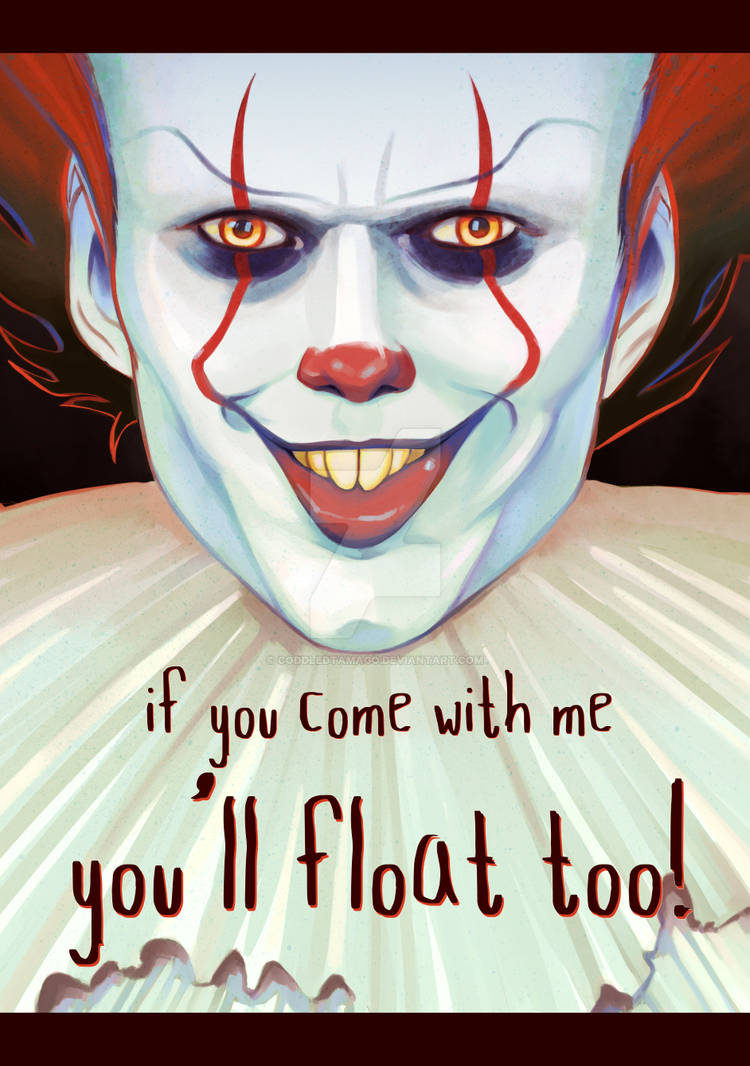 You'll float too