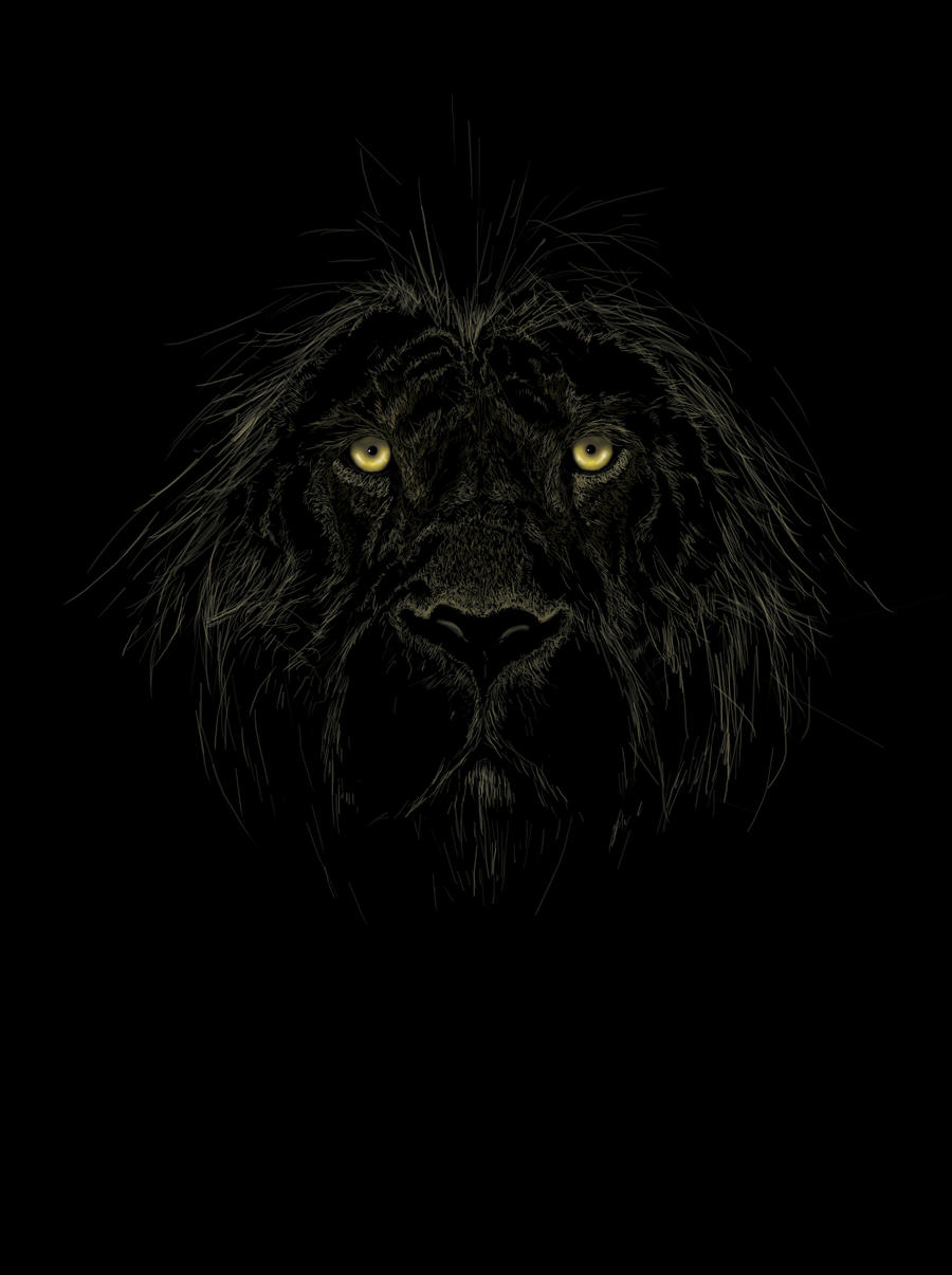 dark gothic lion wallpaper - photo #10
