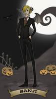Halloween-Town: Sanji by SnajeyArt
