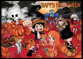 OP Halloween by SnajeyArt
