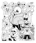 SaNs And PapYRus skETcheS