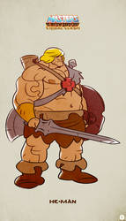 MotU - Tribal Clash: He-Man
