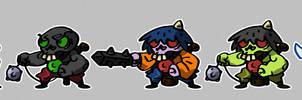 Project Paper Ninja: Dokuro Troops
