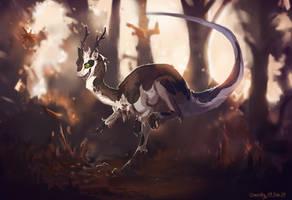 Chasing Autumn - Rento by CharakyARPG