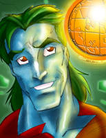 Captain Planet Sketchshot XGX by knytcrawlr