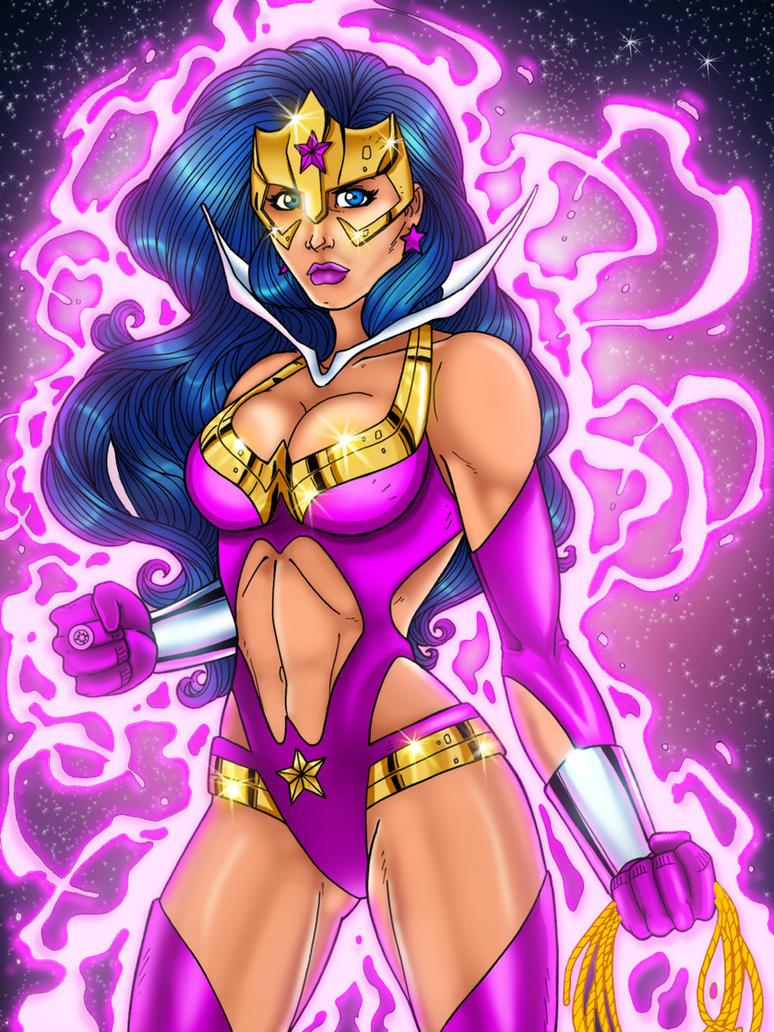 WonderWoman_Star Sapphire XGX by knytcrawlr