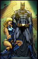 BATMAN_BLACK CANARY XGX by knytcrawlr