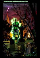 Green Lantern Ink Clean XGX by knytcrawlr