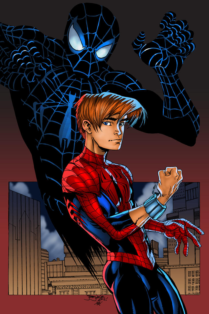 Ultimate Spidey and Pete by thincage XGX by knytcrawlr