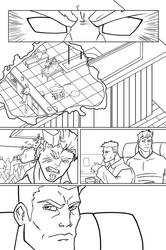 Frost Fire Issue 4 page 13 INX-GX by knytcrawlr