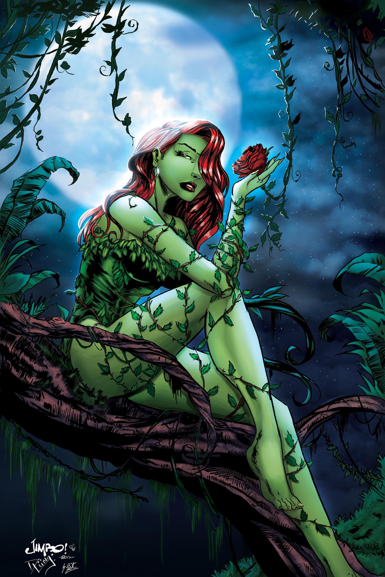 Poison Ivy 1 8 Skin By Chellizard Minecraft Skin
