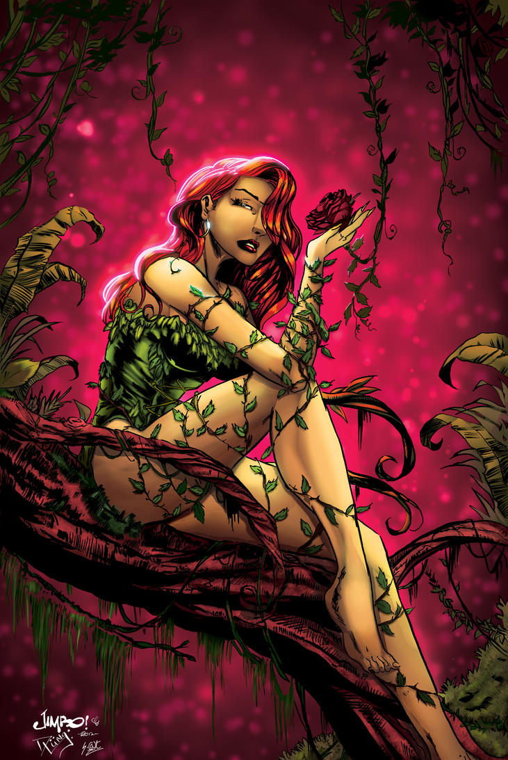 Poison Ivy by davelungart - PINK TEMPTATION XGX by knytcrawlr