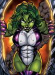 She-Hulk by inker guy XGX