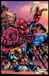 Avenging Spiderman Promo By Mad XGX