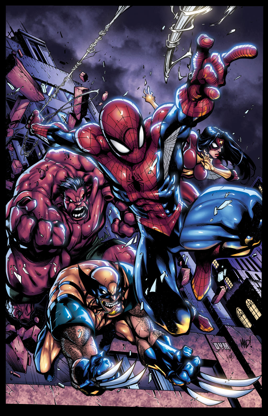 Avenging Spiderman Promo By Mad XGX V2 by knytcrawlr