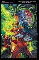 Astonishing Tales Cover Flats By Jotazombi XGX by knytcrawlr