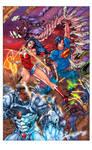 Superman 16 Cover Flats by jotazombie XGX