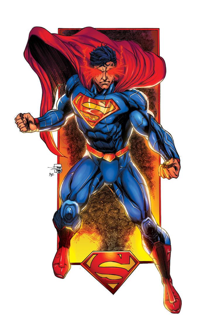 superman commission by joeprado2010 XGX by knytcrawlr