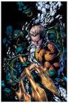 aquaman issue 01 cover by joeprado2010-d420su4 XGX