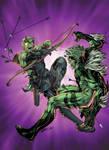hawkeye vs sabretooth by spiderguile-d8k5vvp XGX v