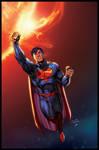 superman  inks by devgear 01 XGX