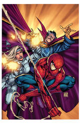 Avenging Spider Man Cover Flats By Kokokrans XGX