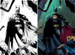 batman and superman flats by kbilek-d9br59l XGX