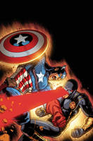 Avengers Vs X Men Cover Timothy Brown XGX by knytcrawlr