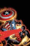Avengers Vs X Men Cover Timothy Brown XGX