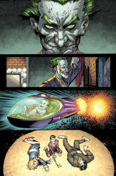 Batman Arkham Knight Issue 4 Page 3 XGX by knytcrawlr