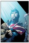 jim lee superman wondercon boysicat XG by knytcrawlr