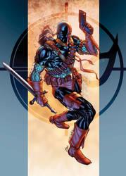 Deathstroke the Terminator XGX by knytcrawlr