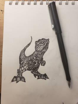 Dino gator?