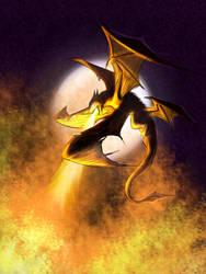 Dragon sketch semi-illustration?