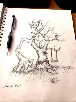 Creature Design Sketch
