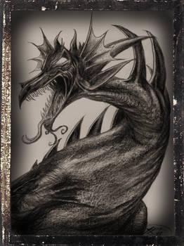 A Dragon Drawn for A Kid