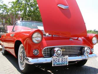 55 Thunderbird on a Sunny Day