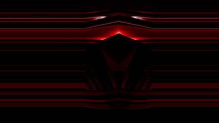 Deep Dark Red Chrome 1366x768
