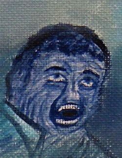Detail of the main painting - nightmare by ckp