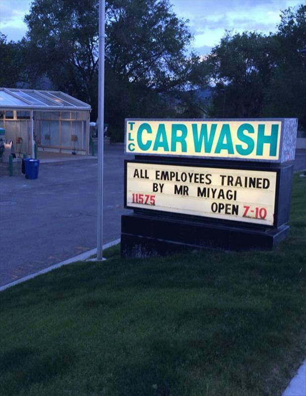 Mr Miyagi Car Wash