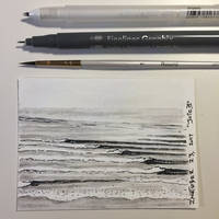 Inktober 23, 2017 'Juicy' by vertseven