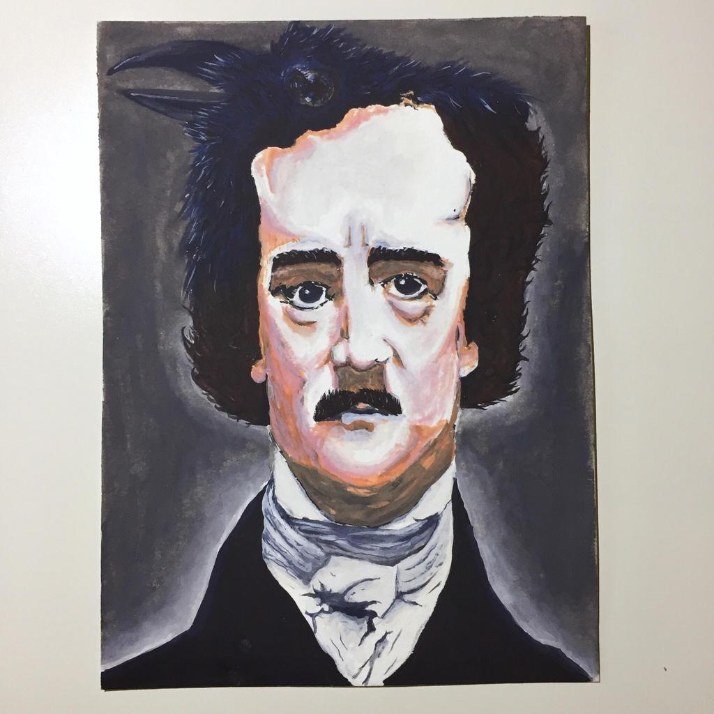 NaNoWriMo: Edgar Allan Poe: The Raven by vertseven