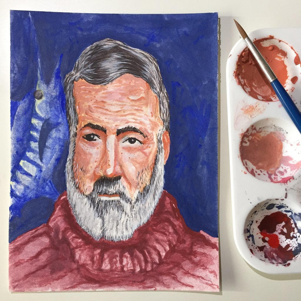 NaNoWriMo: Ernest Hemingway: The Old Man  the Sea by vertseven
