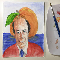 NaNoWriMo: Roald Dahl: James and the Giant Peach by vertseven