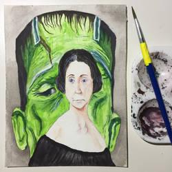 NaNoWriMo: Mary Shelley: Frankenstein