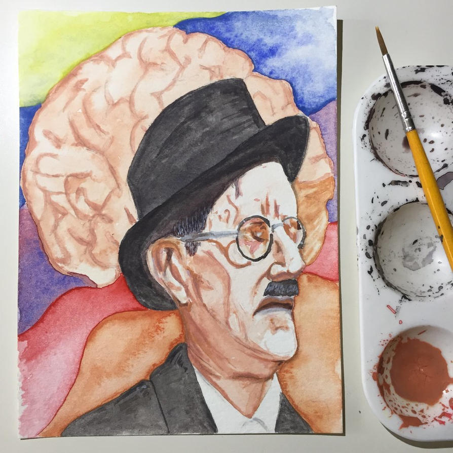 NaNoWriMo: James Joyce: Ulysses by vertseven