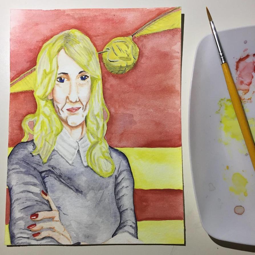 NaNoWriMo: JK Rowling: Harry Potter by vertseven