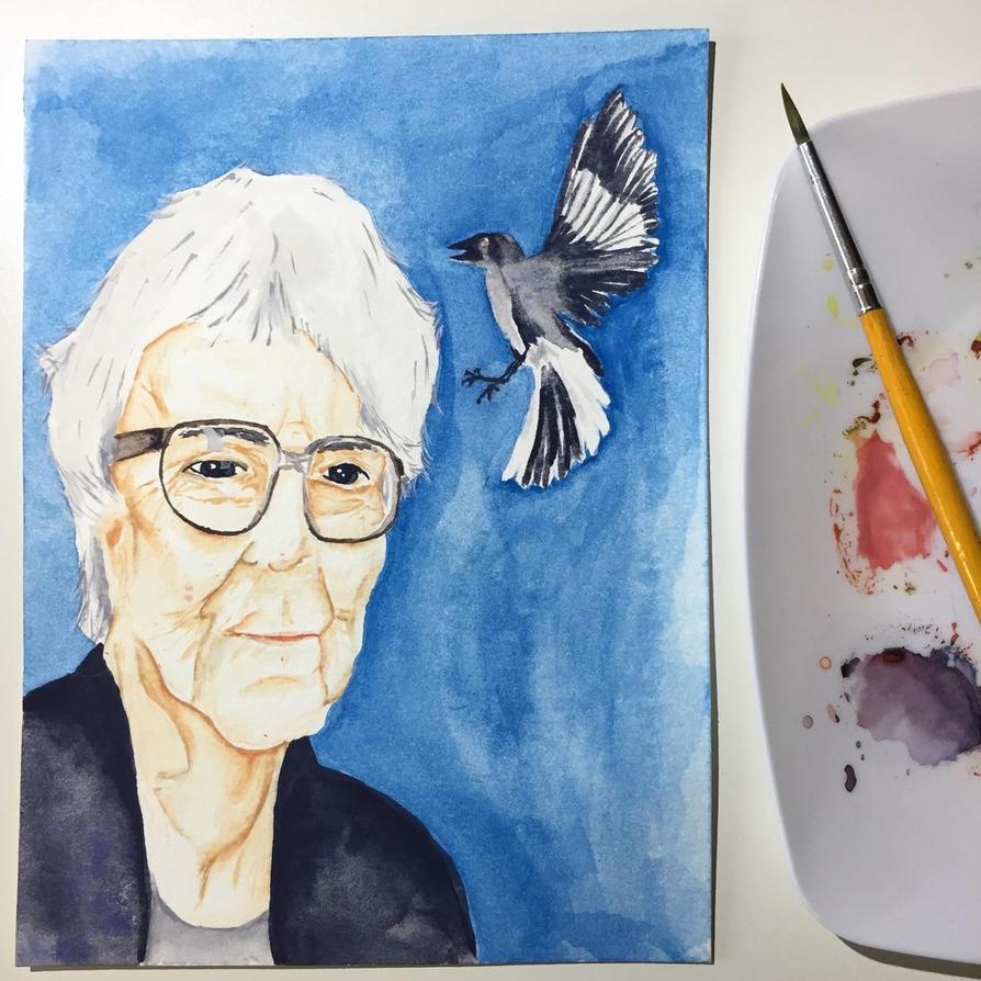 NaNoWriMo: Harper Lee: To Kill a Mockingbird by vertseven